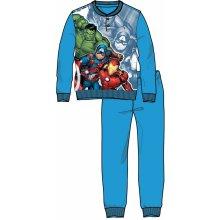 Disney by Arnetta chlapecké pyžamo Avengers modré