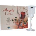 Crystalex Sklenice na víno ANGELA 350ml 6ks