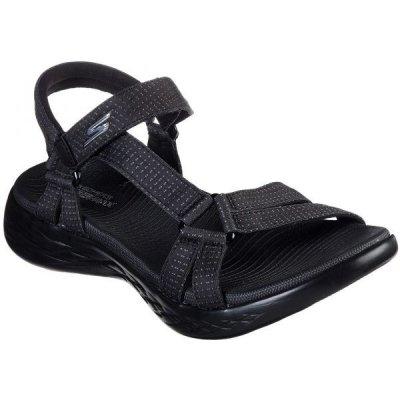Skechers ON-THE-GO 600 BRILLIANCY černá dámské sandály