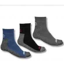 Sensor ponožky Treking, šedá/černá/modrá 3 pack