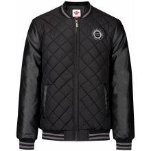 Lee Cooper Quilted Bomber jacket mens black