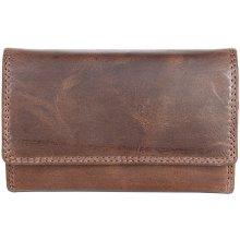 Kožená peněženka ze silné přírodní kůže