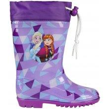 Disney Brand Dívčí holínky Frozen - fialové