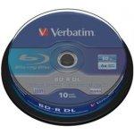 Verbatim BD-R DL 50GB 6x, spindle, 10ks (43746)