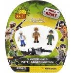 Cobi 2025 Small Army 3 figurky s příslušentvím č.3