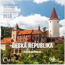 Česká mincovna 2018 Sada oběžných mincí Česká republika stand 128 g