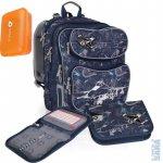 Topgal Školní batoh CHI 698 D blue + penál CHI 715 D + box