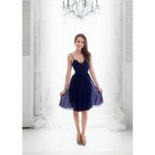 52290fee9e7 Eva   Lola koktejlové šaty Valentine tmavě modrá
