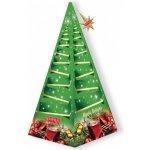 IMPRA Vánoční stromeček zelený Magic Delight černý čaj s vanilkou a čokoládou 15 x 2 g