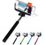 Selfie tyč - selfie stick - iPhone, Samsung - teleskopická se spouští