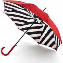 Fulton Dámský holový deštník Lulu Guinness LG Bloomsbury 2 Diagonal Stripe L723