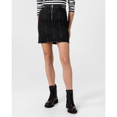Calvin Klein sukně dámské černá