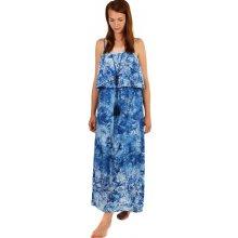 YooY dlouhé batikované letní maxi šaty d34e51de2b