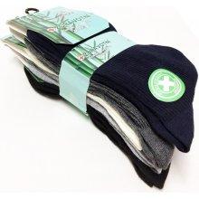 dámské zdravotní bambusové ponožky 5 párů