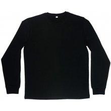 Tričko s dlouhými rukávy Superstar Černá