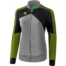 Erima Premium One 2.0 bunda šedá zelená