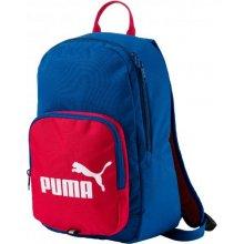 6b3235327e4 PUMA Phase Small Backpack Lapi 074104-05 Modrá Červená