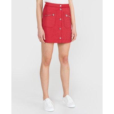 Scotch & Soda sukně dámské červená