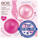 EOS Strawberry Sorbet & Wildberry balzám na rty 2 ks (Strawberry Sorbet & Wildberry) 2 x 7 g