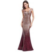 Ever-Pretty jiskřící šaty se spadlými rameny délky Sequins EP08999RD červená b31ed335fd
