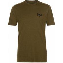 Everlast Logo T Shirt Mens Khaki