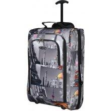 Kabinové zavazadlo FRENZY T-825/1-50 šedá
