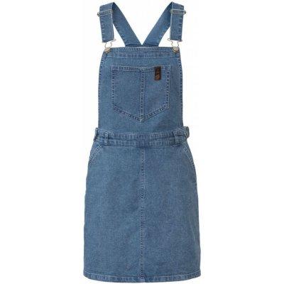 Esmara dámská džínová sukně s laclem BIO světle modrá