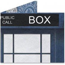 Dynomighty Design Dr. Who Blue Box 1 AC 1023 peněženka