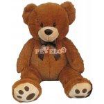MAC TOYS Plyšový medvídek světle hnědý 60 cm