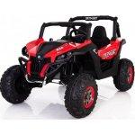BIG BOY Dětské elektrické ATV s náhonem na všechny kola červené
