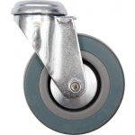 Otočné kolečko, gumové na čep 20kg 50/16/70mm