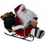 Vánoční dekorace Santa Claus na saních
