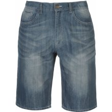 Lee Cooper denim shorts pánské Dark Wash