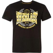 Everlast Printed T Shirt Mens Black