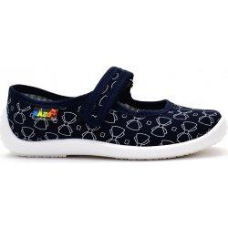 ab8075d4d5 Dětská bota Peon Nazo bačkory balerínkové NA 001 GE modré