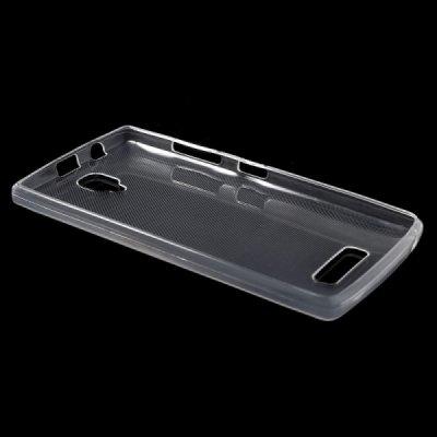 SES Silikonový obal pro Lenovo A2010 Dual SIM - průhledný 2300