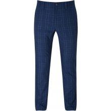 Callaway Glen Plaid pánské kalhoty, tmavě modré pánské