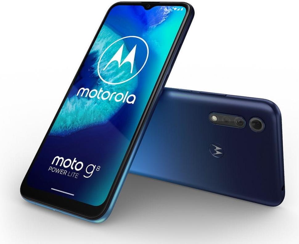 Motorola Moto G8 Power Lite 4GB/64GB na Heureka.cz