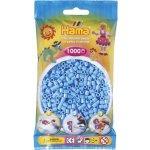 HAMA H207-46 Hama zažehlovací pastelově modré korálky 1000ks MIDI