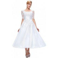 Grace Karin plesové šaty půlnoční CL6051-3 Bílá alternativy - Heureka.cz 539f16f5ab