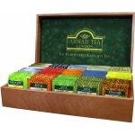 Ahmad Tea Dřevěná kazeta tmavá pro 15 druhů čajů