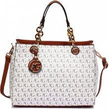 Anna Grace luxusní kabelka AG00536 WHITE