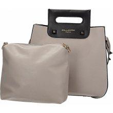 Gallantry kabelka-kufřík 2 v 1 šedá