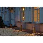 Deltalight Botanic 54, sloupkové venkovní svítidlo, 2x3W LED v teple bílé barvě světla, hliník, výška 54cm, IP54