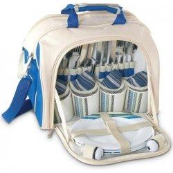 Rekl Pikniková taška RUSTIC pro 4 osoby - béžová modrá alternativy ... d4b5577c2c