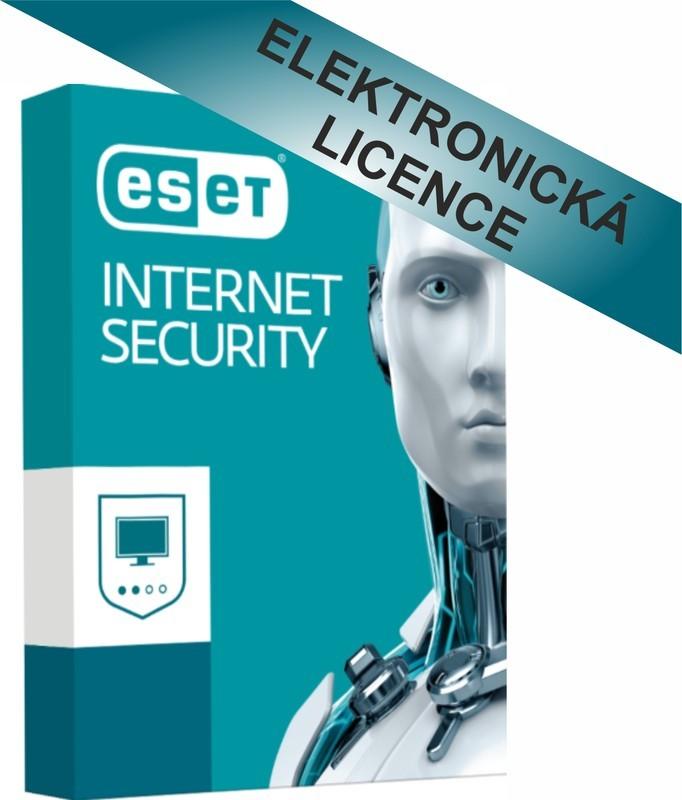 ESET Internet Security 1 lic. 3 roky (ESS001N3)