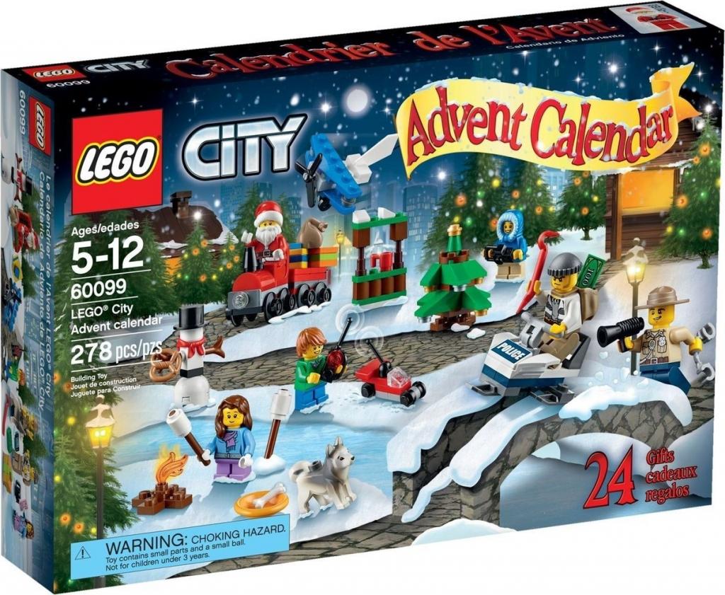 adventni kalendar lego Lego City 60099 Adventní kalendář od 695 Kč   Heureka.cz adventni kalendar lego