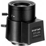 """Evetar V13VD358, 1/3"""" CS f3.5-8mm F/1.4"""