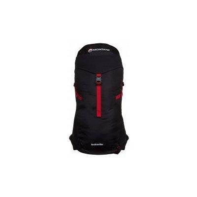 Montane Featherlite 30 black-alpine red S-M Černá batoh