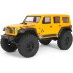 Recenze Axial SCX24 Jeep Wrangler JLU CRC 2019 4WD RTR žlutá 1:24